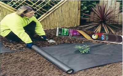 WEED CONTROL GUARD FABRIC CLOTH MEMBRANE 8m x 1.5m ROLL GARDEN LANDSCAPE SHEET