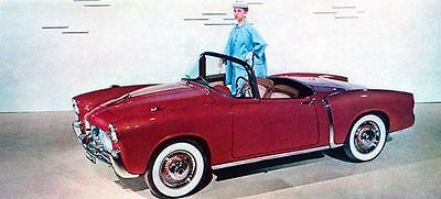 1957 Fiat 1100TV Roadster Factory Photo J1530