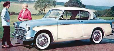 1957 Sunbeam Rapier Saloon Factory Photo J1663