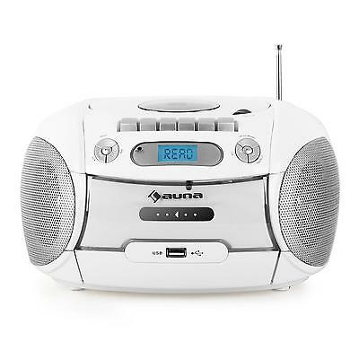 Toll: Auna Boomberry Ghettoblaster Radio Kassetten Recorder Usb Sd Mp3 Cd Player