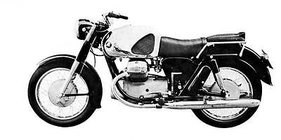 1961 Marusho Lilac LS18 Motorcycle Factory Photo J1981