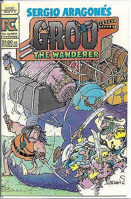 Groo The Wanderer Vol. 2 #3 (1983) NM to NM+  Sergio Aragones