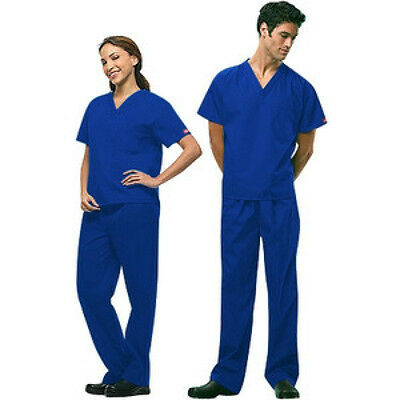 Dickies scrubs medical Unisex scrub set NEW! pant & top included ON SALE NOW