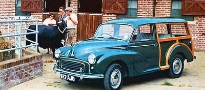 1960 Morris Minor 1000 Traveller Wagon Factory Photo J243