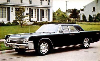 1963 Lincoln Continental Factory Photo J2461
