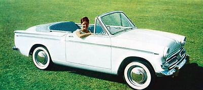 1960 Hillman Minx Convertible Factory Photo J248