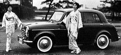 1960 Datsun 1000 211 Sedan Factory Photo J250