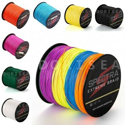 300m /328 yards Braided Fishing Line PE Dyneema Dorisea Agepoch Braid Line
