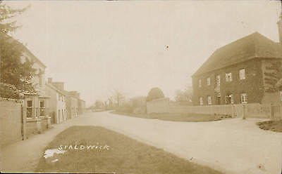 Spaldwick. One House at right.