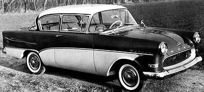 1960 Opel Olympia Rekord Limousine Factory Photo J264