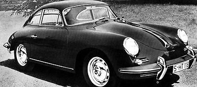 1960 Porsche 356B 1600 Super Coupe Factory Photo J298