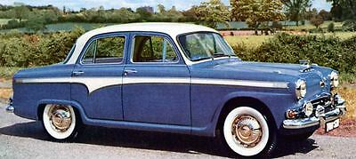1958 Austin A105 Saloon Factory Photo J529