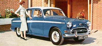 1958 Austin A95 Westminster Saloon Factory Photo J531