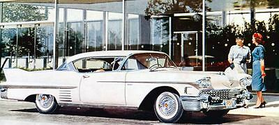 1958 Cadillac Coupe DeVille Factory Photo J568