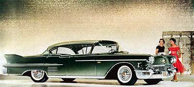 1958 Cadillac Sedan Factory Photo J570