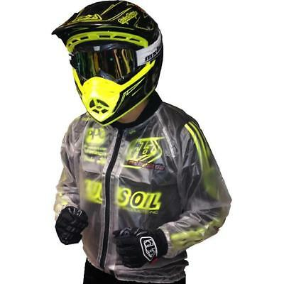 MX-BUDE Motocross Enduro Regenjacke - klar Motocross Enduro MX Cross