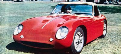 1958 TVR Saidel Jomar Coupe Factory Photo J778