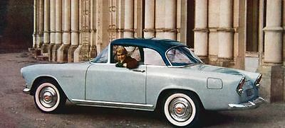 1958 Simca Chatelaine Coupe Factory Photo J787