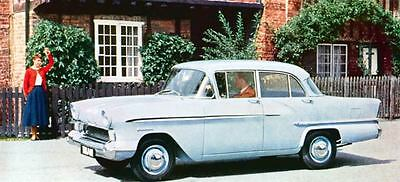 1958 Vauxhall Victor Saloon Factory Photo J805