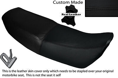 Black Stitch Custom Fits Honda Vt 250 Fd Dual Leather Seat Cover