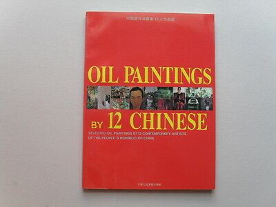 Oil Paintings by 12 Chinese Exhibit Catalog- Beijing Oriental Art Gallery,China