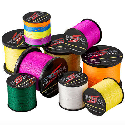 Spectra 300m Top Strong PE Dyneema Braided fishing line Tresses Pêche Ligne