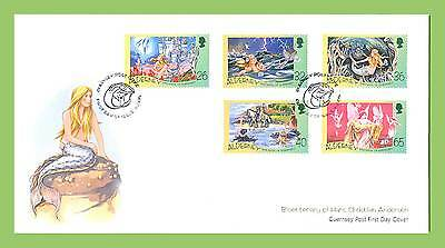 Alderney 2005 Birth Bicentenary of Hans Christian Andersen set First Day Cover