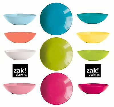ZAK design BBQ deep plate Soup dish Melamine ideal for Camping Picnic