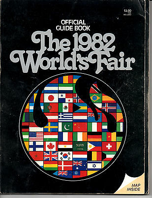 1982 Worlds Fair Guide Book Knoxville Great Ads!
