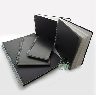 A5 Portrait Seawhite Spiral Bound Euro Hardback Sketchbook. Artists Sketch Book