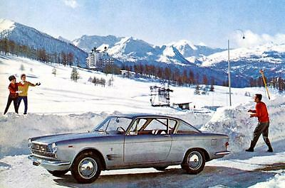1964 Fiat 2300S Coupe Factory Photo J3087