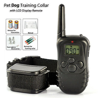 Dog Training Collar Remote Control 100Level Vibra/Shock for Small Medium Big Dog