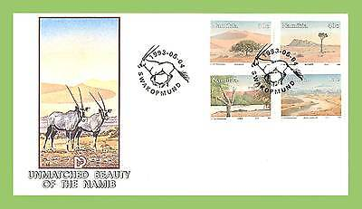 Namibia 1993 The Beauty of the Namid set First Day Cover