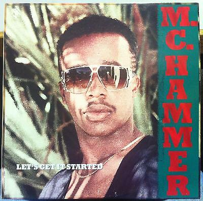M.C. MC HAMMER let's get it started LP VG+ C1-90924 Vinyl 1988 Record