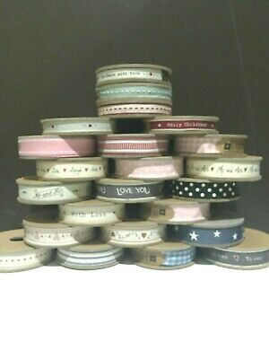 East Of India Special Occasion Wedding Birthday Christmas Ribbon On A Reel 3 M