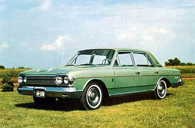 1964 AMC Rambler Ambassador 990 Sedan Factory Photo J3270