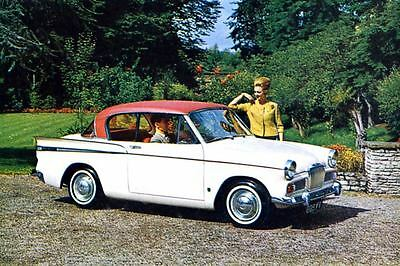 1964 Sunbeam Rapier Sports Saloon Factory Photo J3304