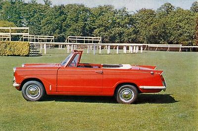 1964 Triumph Michelotti Herald 1200 Factory Photo J3305