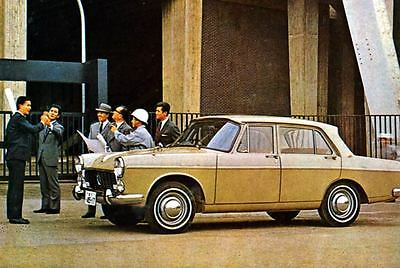 1964 Isuzu Bellel Gasoline Factory Photo Japan J3190