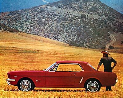 1965 Ford Mustang Factory Photo J3524