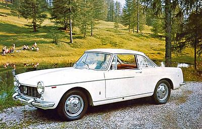 1965 Fiat 1500 Pininfarina Coupe Factory Photo J3646