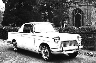 1965 Triumph Michelotti Herald 1200 Coupe Factory Photo J3712