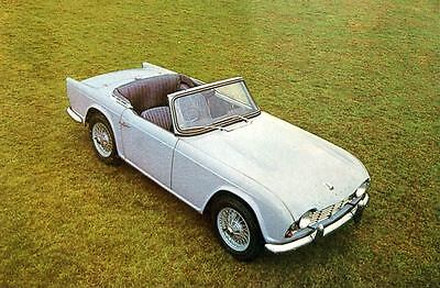 1965 Triumph Michelotti TR4 Factory Photo J3718