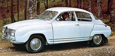 1966 Saab Monte Carlo 850 Factory Photo J3887