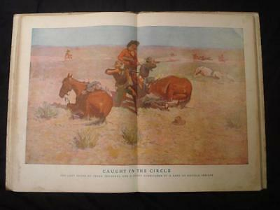 Z ~ Done In The Open Drawings By Frederic Remington 1902
