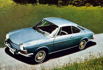 1967 Simca 1000 Coupe Bertone Factory Photo J4022