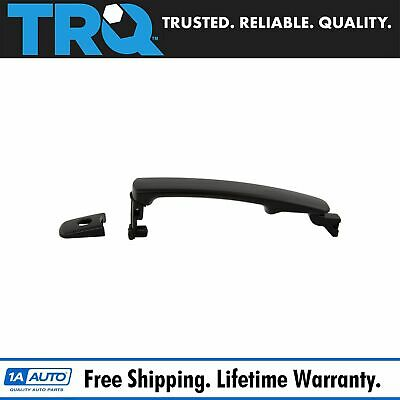Door Handle Outside Smooth Black Front Driver Side Left LH for Nissan Rogue G35