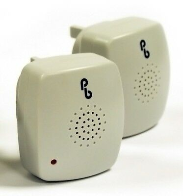 2 x Ultrasonic Plug In Pest Repeller Mouse Mice Rat Spider Insect Repellent
