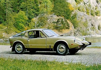 1969 Saab Sonett V4 Factory Photo J4163