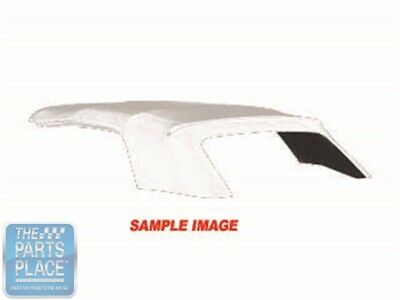 1966-67 Chevrolet Chevelle / Pontiac GTO Convertible Top Without Window - White